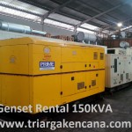 Genset Rental Silent Type